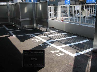 駐輪ライン